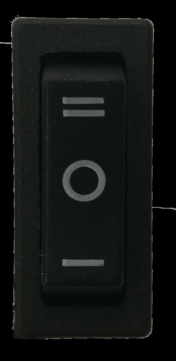UM12 - Fan Switch Black